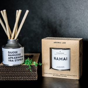 AromaLab – aromaterapinė žvakė NAMAI