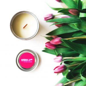 AromaLab – aromaterapinė žvakė ŠOKOLADAS