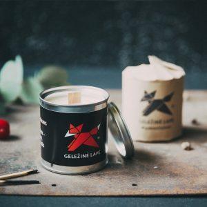 AromaLab – aromaterapinė žvakė NEĖSK TIEK