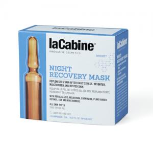 LaCabine – NIGHT RECOVERY veido ampulės