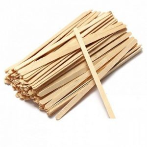 Mediniai pagaliukai depiliacijai 100vnt.